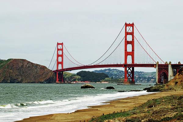 Photograph - Golden Gate Bridge by Renee Hong