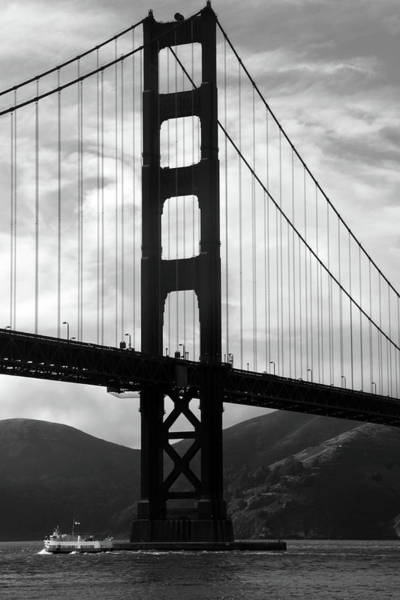 Photograph - Golden Gate Bridge, San Francisco, California by Aidan Moran