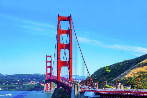Wall Art - Photograph - Golden Gate Bridge, San Francisco, California by Art Spectrum