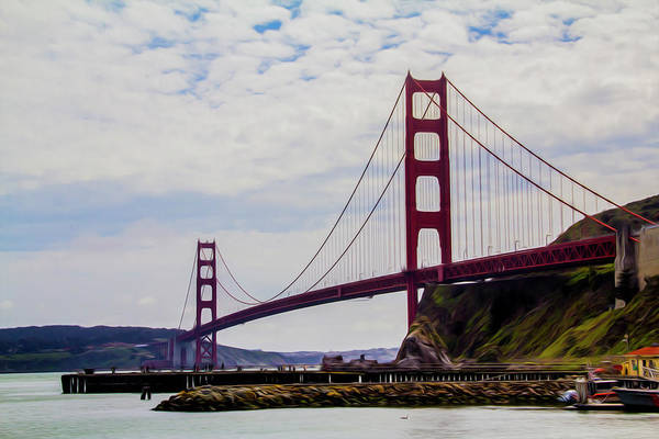 Photograph - Golden Gate Bridge by Stuart Manning