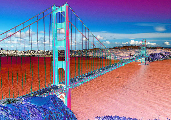 Photograph - Golden Gate Bridge  by Tom Kelly