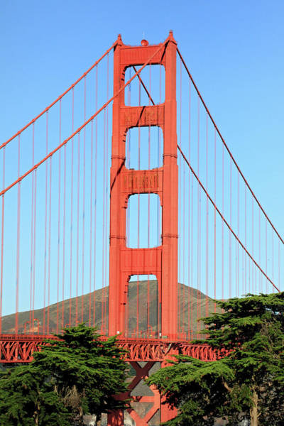 Photograph - Golden Gate Bridge Tower by Pierre Leclerc Photography