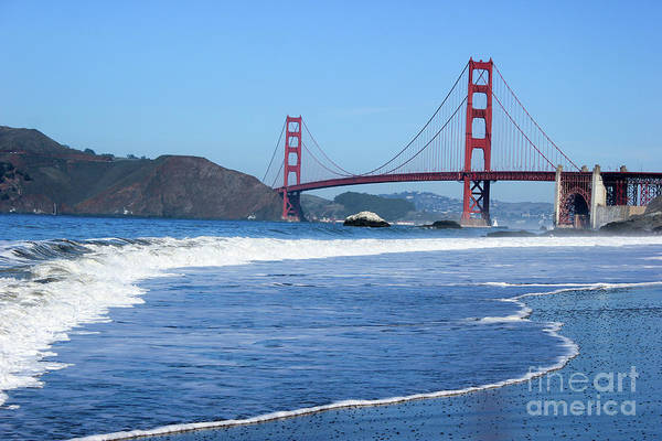 Photograph - Golden Gate Bridge by Wilko Van de Kamp