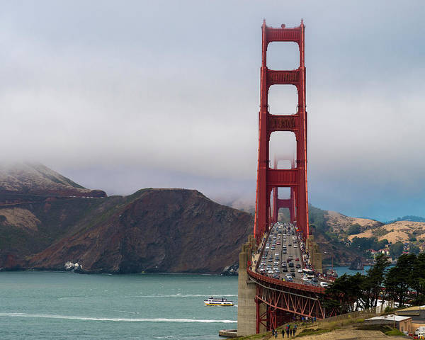 Photograph - Golden Gate by Bryan Xavier
