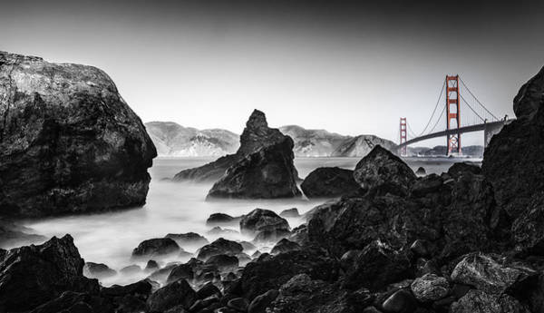 Photograph - Golden Gate Colour by Chris Cousins