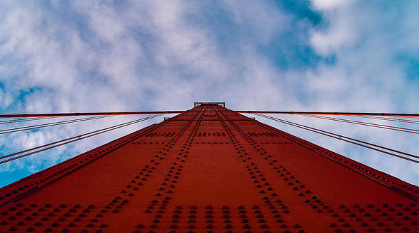 Photograph - Golden Gate Divide by Rand