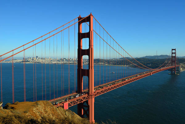 Photograph - Golden Gate by Dragan Kudjerski