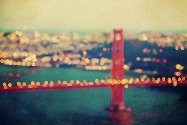 Wall Art - Photograph - Golden Gate Dreams by Melanie Alexandra Price