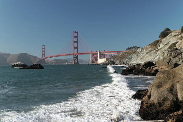 Photograph - Golden Gate From Baker Beach by Harold Rau