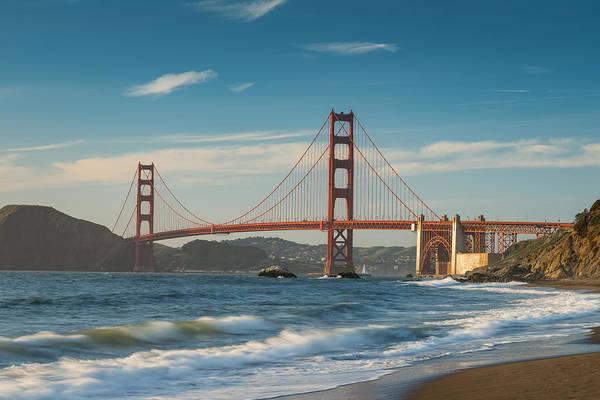 Wall Art - Photograph - Golden Gate From Baker Beach by Steve Gadomski