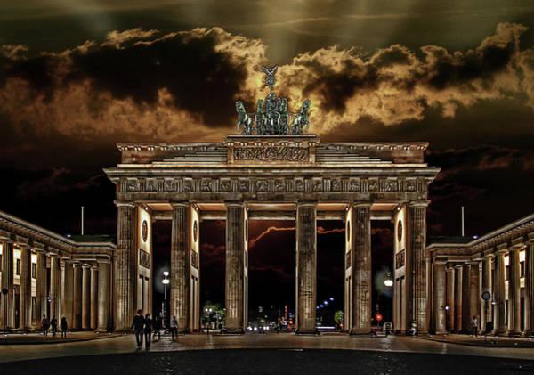 Brandenburg Gate Photograph - Golden Gate by Joachim G Pinkawa