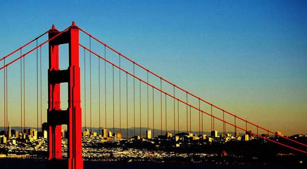 Photograph - Golden Gate Bridge by Juergen Weiss