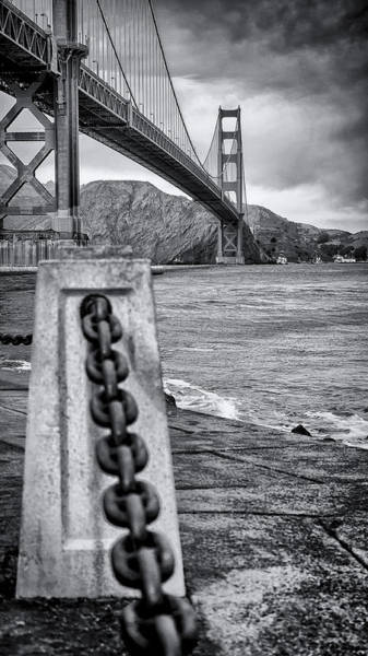 Wall Art - Photograph - Golden Gate View by Steve Spiliotopoulos