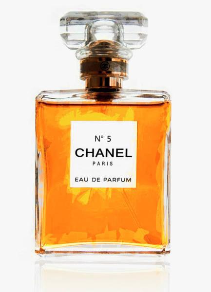 Chanel Wall Art - Digital Art - Golden Glow Of Chanel No. 5 by Daniel Hagerman