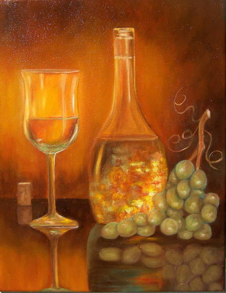 Painting - Golden Glow. Sold by Susan Dehlinger