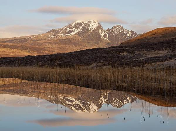 Photograph - Golden Hour At Loch Cill Chriosd by Stephen Taylor
