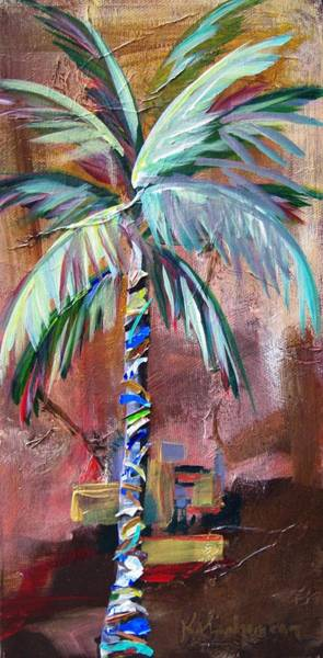 Painting - Golden Jasper Palm by Kristen Abrahamson