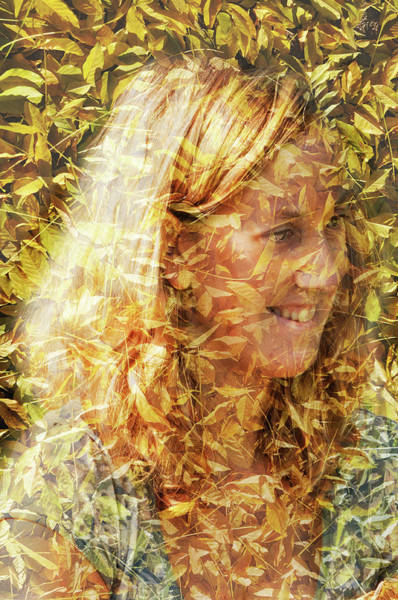 Photograph - Golden Lady by Jean Gill