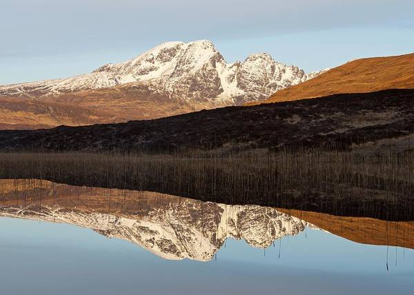 Photograph - Golden Light At Loch Cill Chriosd by Stephen Taylor