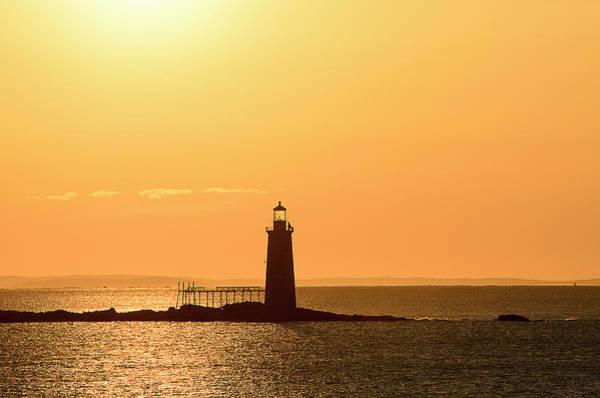 Seacoast Photograph - Golden Light by Dan Jordan