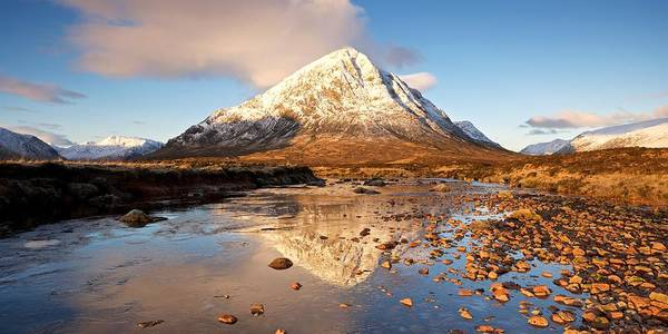 Golden Light In Glencoe Art Print