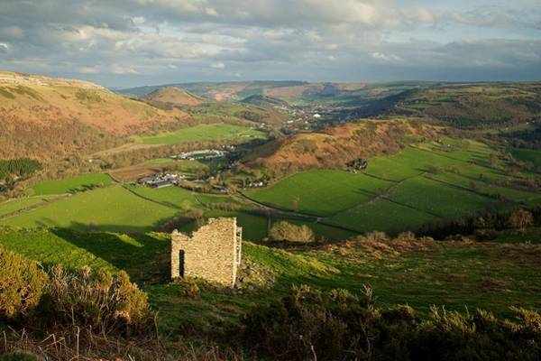 Photograph - Golden Light In North Wales by Stephen Taylor