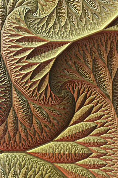 Wall Art - Digital Art - Golden by Lyle Hatch