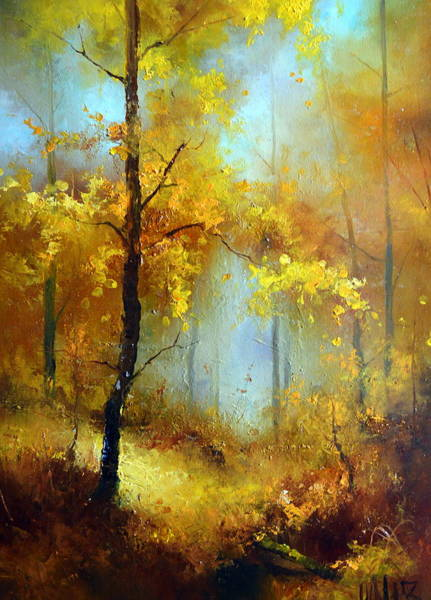 Painting - Golden Morning by Igor Medvedev