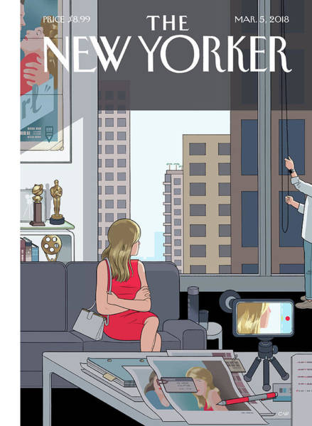 Actress Digital Art - Golden Opportunity by Chris Ware