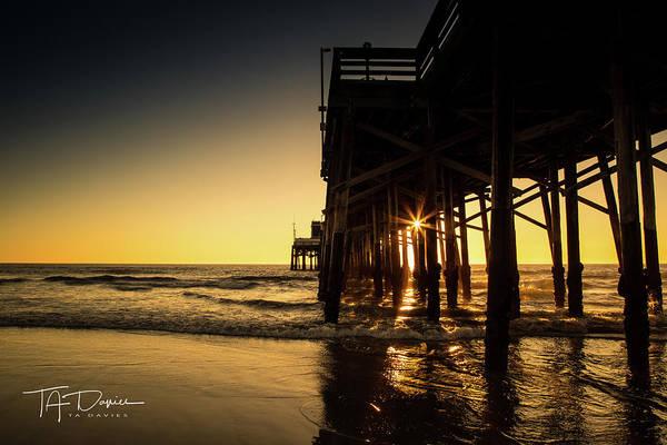 Photograph - Golden Pier  by T A Davies