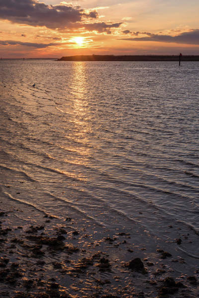 Photograph - Golden Ripples Lbi New Jersey Sunset  by Terry DeLuco