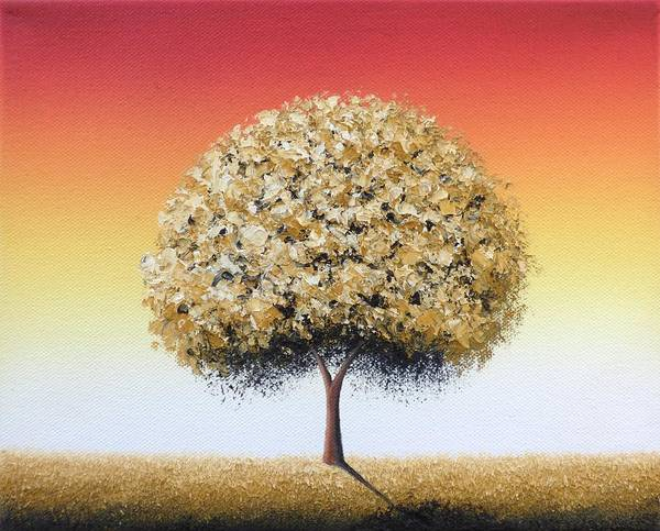 Wall Art - Painting - Golden Roots by Rachel Bingaman