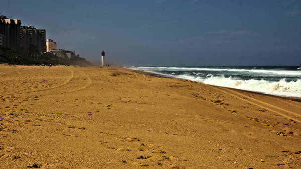 Photograph - Golden Sands At Umhlanga by Jeremy Hayden