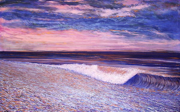 Painting - Golden Sea by Jeanette Jarmon