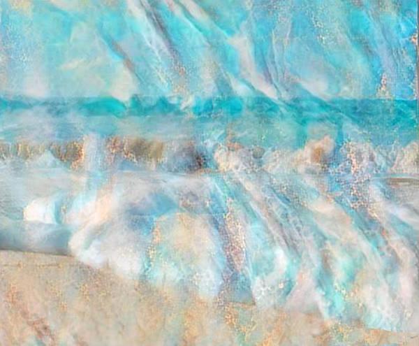 Carribean Islands Digital Art - Golden Seas Gs-12a by Artistic Mystic