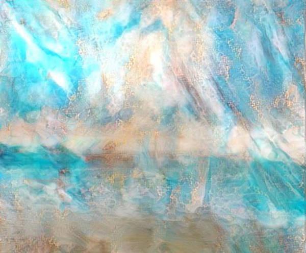 Carribean Islands Digital Art - Golden Seas Gs-15a by Artistic Mystic