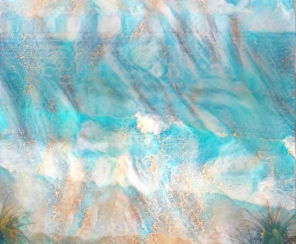Carribean Islands Digital Art - Golden Seas Gs-16a by Artistic Mystic