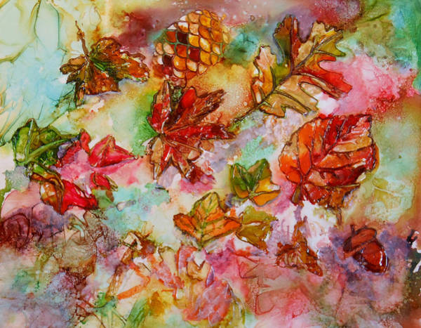 Painting - Golden Season by Pam Halliburton