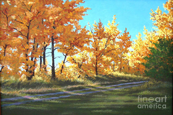 Painting - Golden Splendor by Diane Ellingham