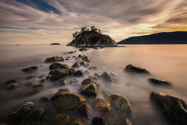 Photograph - Golden Stepping Stones by Pierre Leclerc Photography