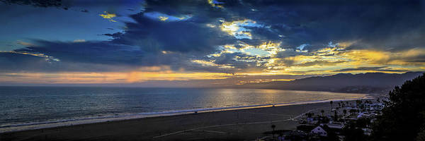 Photograph - Golden Summer Reflections - Panorama by Gene Parks