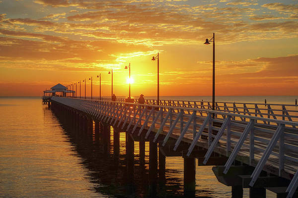 Photograph - Golden Sunrise Down By The Bay by Keiran Lusk