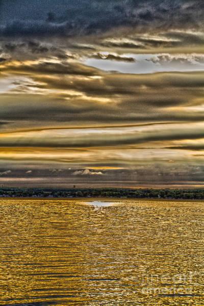 Photograph - Golden Sunrise by William Norton