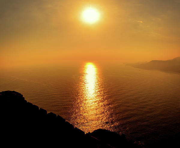 Photograph - Golden Sunset On Alanya Castle by Sun Travels