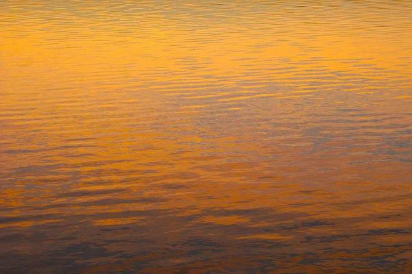 Photograph - Golden Sunset Reflection Leaving Block Island by Polly Castor
