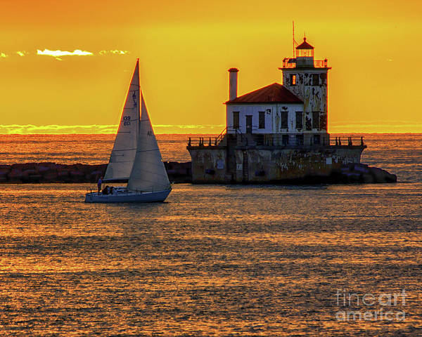 Photograph - Golden Sunset by Rod Best