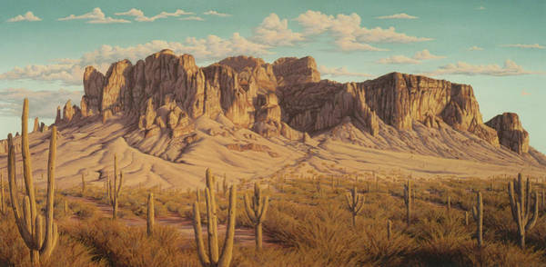 Painting - Golden Superstitions by Cheryl Fecht