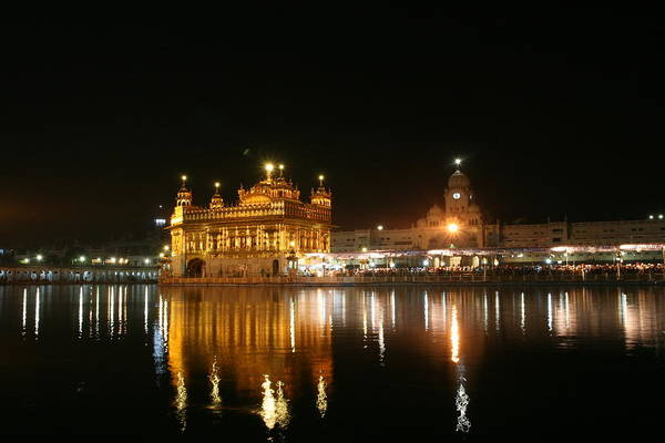 Indian Culture Photograph - Golden Temple by © Deepak Bhatia