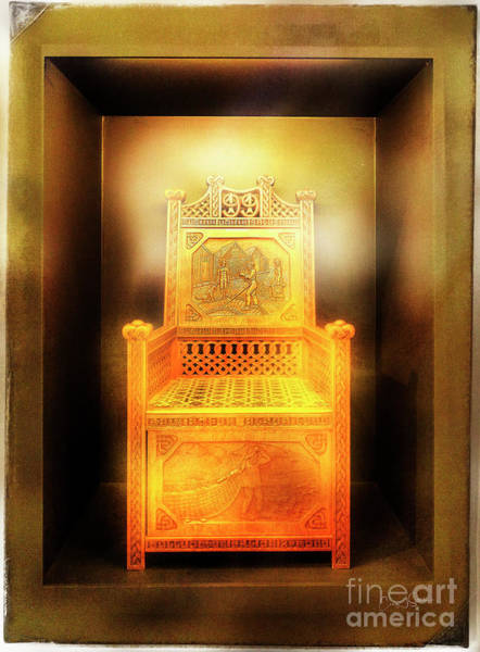 Photograph - Golden Throne by Craig J Satterlee