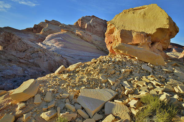 Photograph - Golden Throne In Valley Of Fire by Ray Mathis